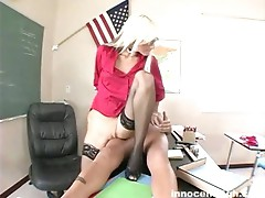 Horny blonde fucked hard by the muscled dude from different angles