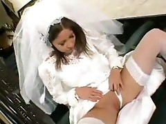 New bride fucked in the ass by groom