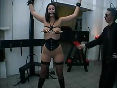Two painful BDSM scenes for a slut
