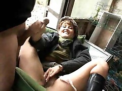 Girl pissing in the woods and fucking