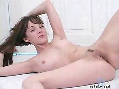 Charlie Laine naked and masturbating