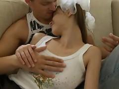 White princess banged by boyfriend