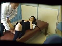 Schoolgirl used by Schooldoctor