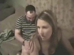 Guy films his GF getting fucked by a friend