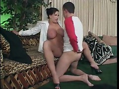 Fucking his aunt feels so damn good