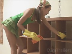 Me fucking horny cleaning woman