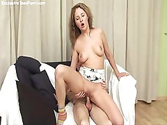 Busty Teen Has Sex With Her Fuck Mate