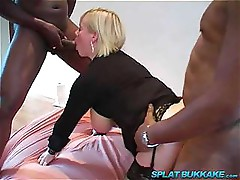 Big Black Cock Anal gangbang party
