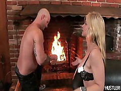 Amazing hot Sarah Vandella gets impaled by a long, hard cock