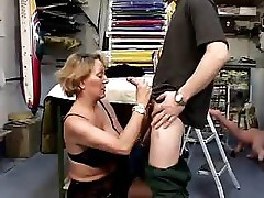 French Mature And Boy