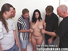 Raven Teen Girl Group Sex After Party For Tampa Bukkake