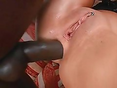 Sabrina taking part in interracial fuck