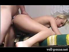german blonde getting hard fuck