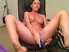 Sessho Maru giving a great webcam session with her toys for you