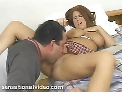 Chubby school girl Alyssa West fucks her coach for lessons