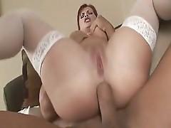 Katja Kassin sucks and fucks a dick to get it into her hot ass