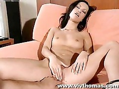 Angelina Crow sucks a good dick and fucks it likes it's alive