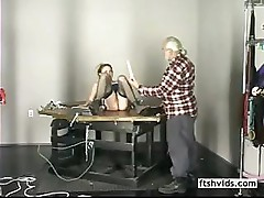 Kimber is run through the moves with toys and hands in pussy