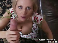 Mature blonde pussy smashed