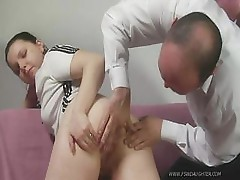 Dad Shows Her What Enemas Are For