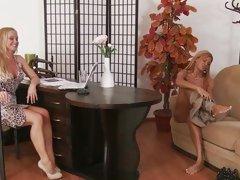 Tart Sylvia Saint watches Ashley Bulgari strip