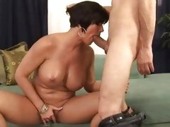 Sizzling Shay Fox gets her mouth crammed with cock