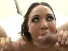 Scorching Kristina Rose gets her face full off cum