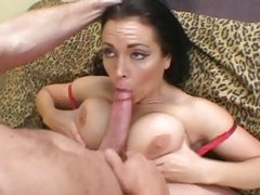 Amazing bitch Angelica Sin gives this dick a tit wank
