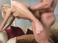 Pretty Katie Morgan constricted pussy pounded