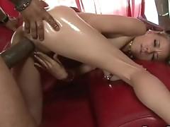Cum freak hottie Nicole Ray receives a hawt explosion of jizz after fucking hard