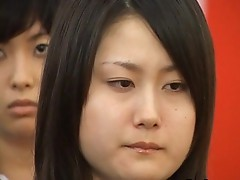 Japanese babe during graduation scene
