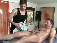 Guy getting his anus fucked with hot toy
