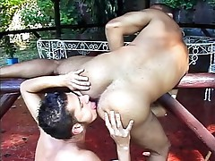 Taut assed latino anal anal drilling