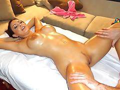 Oily moist and Horny