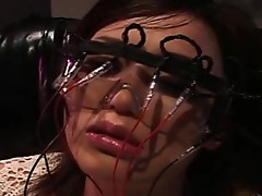 Bound, ball-gagged, and begging