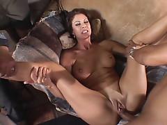 Wife Vanessa widening her pussy
