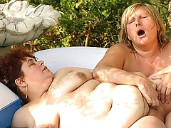 Large love tunnel rubbing bbw Jessica