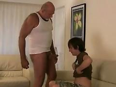 Horny gay bear sucking scene