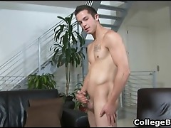 Jay Smith jerking his fine college cock