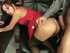 Horny whore gets her gaping asshole video