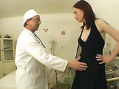 Hot babe enters sex clinic