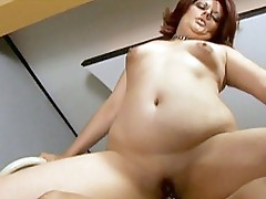 Unfathomable cock rammed bbw