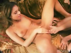 Lusty Isabella Sky receives her Cookie fingerfucked this babe can't help Moaning for More