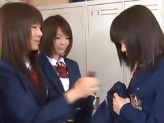 Anri Nonaka and Kurumi crazy scene