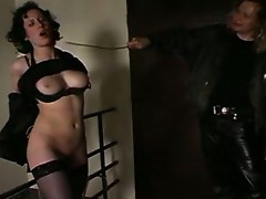 Fastened and caned