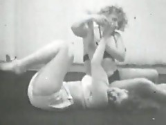 Vintage Cat fights