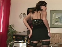 Seductive hawt Sensual Jane teases every Man's Desire with her bootylicious arse