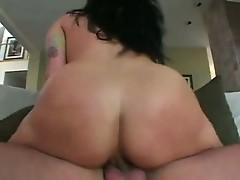 Smutty hawt brunette KaTrina kravin sits Moist wazoo on throbbing cock riding hard