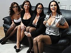 Ava Addams, Francesca Le, Vanilla Deville and Veronica Avluv