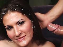Breasty Austin cum glazed